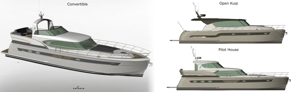 Atlantic Motoryachts presents the new Atlantic A500 series