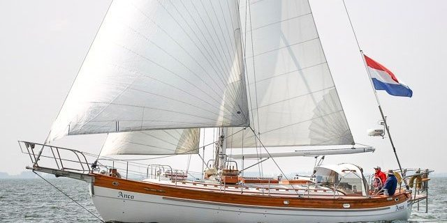 "Hans Christian 41 ""Anco"" for sale again!"